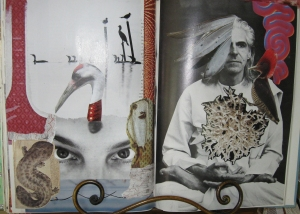 Collage Pages from my Altered Book